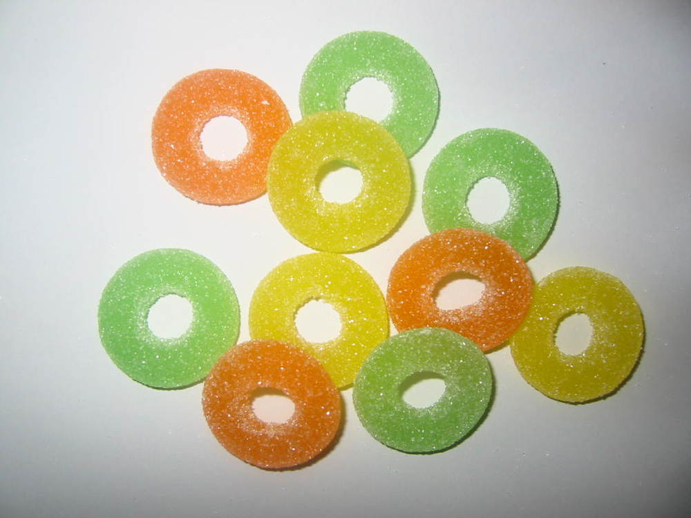 Ring gummy candy, Custom shape Confectionery, Ring gummy
