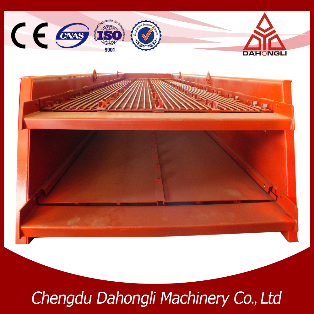 High quality vibrating screen for minig and construction industry