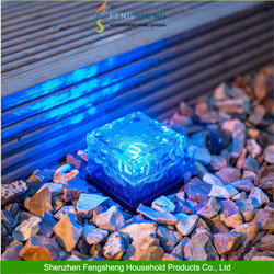 GLASS ICE CUBE BRICK lamp LED underground light