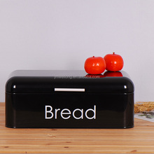 Vintage Bread Box Kitchen Large Bread Bin storage for 2 loaves Metal Storage Container