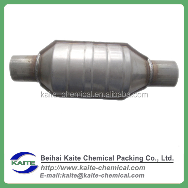 Customized universal ceramic substrate monolith catalyst car three-way catalytic converter