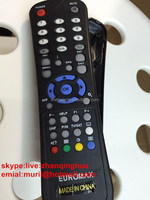New Product Black 39 Keys EUROMAX REMOTE for STB Satellite Receiver Set-top Box The Republic of Azerbaijan MadBoy RC-8E