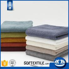 china wholesale ultra premium quality BEST SALE grey and white towels