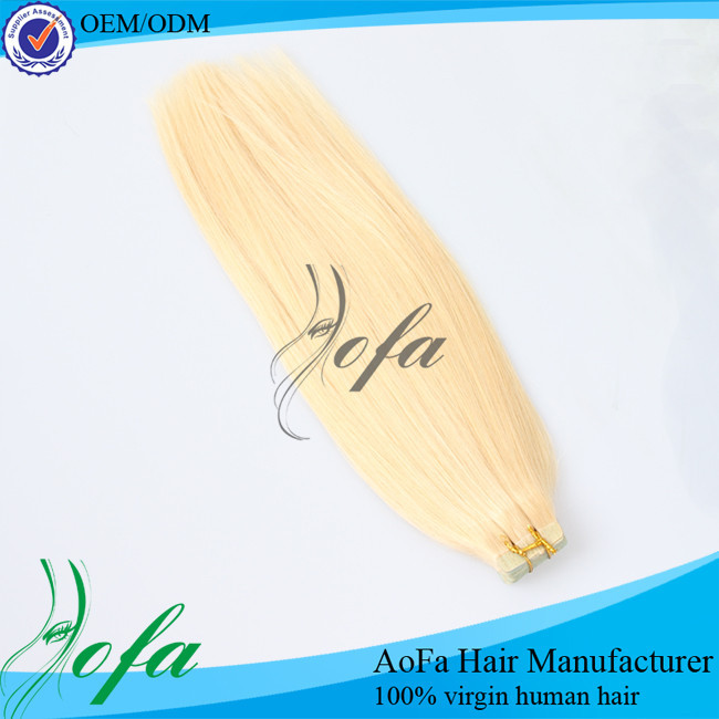 Newest arrival bulk buy from china human brazilian tape hair extension human