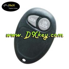 Remote key fob programming for Buick GL8 key 2 Buttons remote control case with battery holder without letter on the backside cl