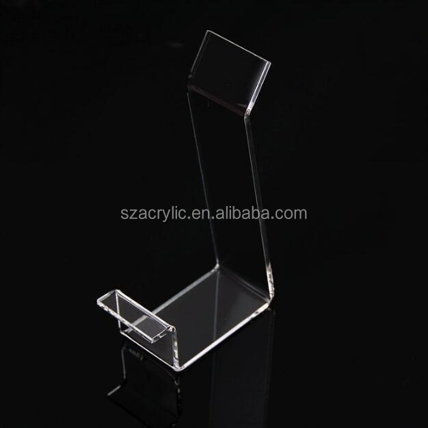 customized shoe shop acrylic display shoe stand