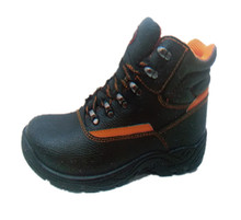 China Brand High Quality Work Safety Shoes Leather Work Boots With Low Price