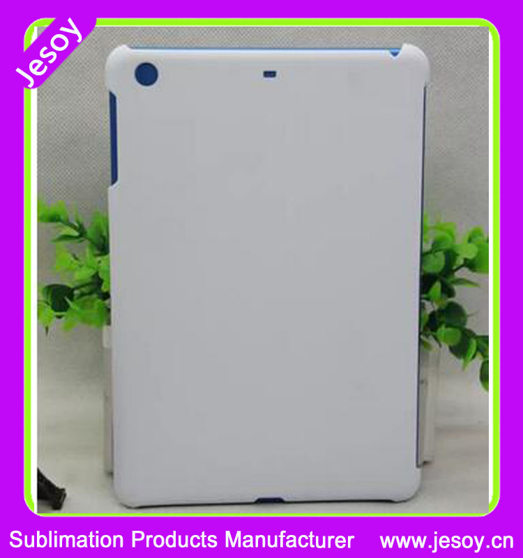 JESOY Matte Plastic Sublimation 3D Cell Phone Case For iPad 2 3 4 Case