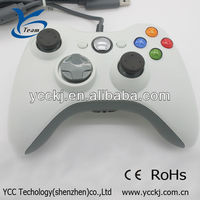 Hot For Microsoft Xbox 360 PC Windows wired controller Vedio Gamepads 2013