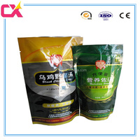 High quality plastic stand up nut bag/mushroom packaging bag
