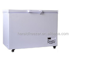 SECOP compressor single temperature -40 degree chest deep freezer
