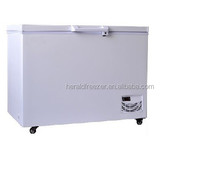 single temperature -40 degree commercial chest deep freezer