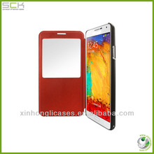 for samsung galaxy note 3 leather flip cover
