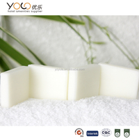 different types of hotel soap supplies with logo