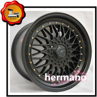 17 RAYS aluminum alloy wheel 114.3*5 PCD with black color