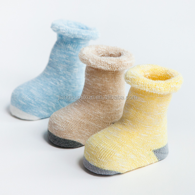 Highly recommend terry-loop hosiery knee high baby wear socks