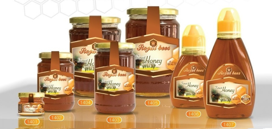 Natural Honeydew honey