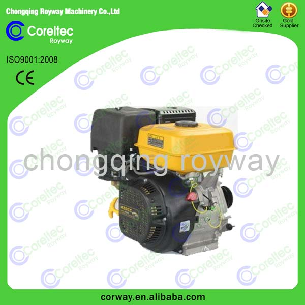 Single Cylinder 10hp Air Cooled Gasoline Engine for car