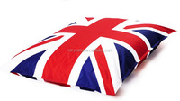 UK flag printed puff bean bag