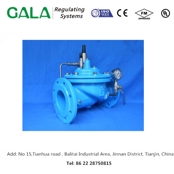 Hot sale product GALA 1342 Flow Control and Pressure Reducing Valve as water