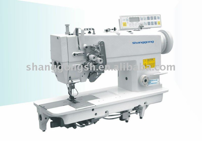 GD8450H-4-5D Auto oil-lubrication Double-needle Heavy Duty Top and Bottom Feed Lockstitch Sewing machine