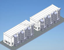 central dust collection dry grinding system