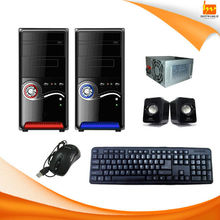 Computer Accessory 5 in 1 Computer case combo kit with case/ 500W power supply/ keyboard/ mouse/ speaker