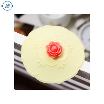 Wholesale food grade silicone rubber bowl cover/cup lid