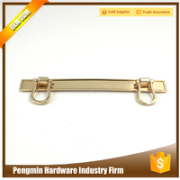 Promotional factory price ornamental handles for handbag