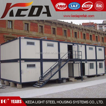 Flat Pack Prefab House Container Office Building