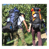 80L new stylish large durable fabric outdoor sports professional mountaineering backpack camping hiking bag for men and women