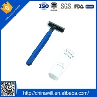 High Quality Plastic Disposable Straight Shaving