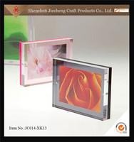 Jiecheng good quality popular promotional gifts eco-friendly decorative acrylic photo frame