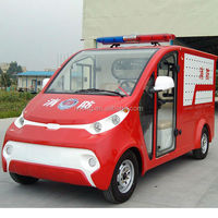 2 seat electric antique fire trucks for sale