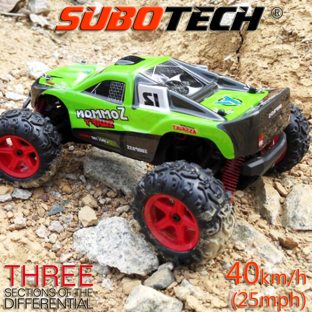 1:24 2.4G high speed rc car with 40km/h, powerful rc truck toys car