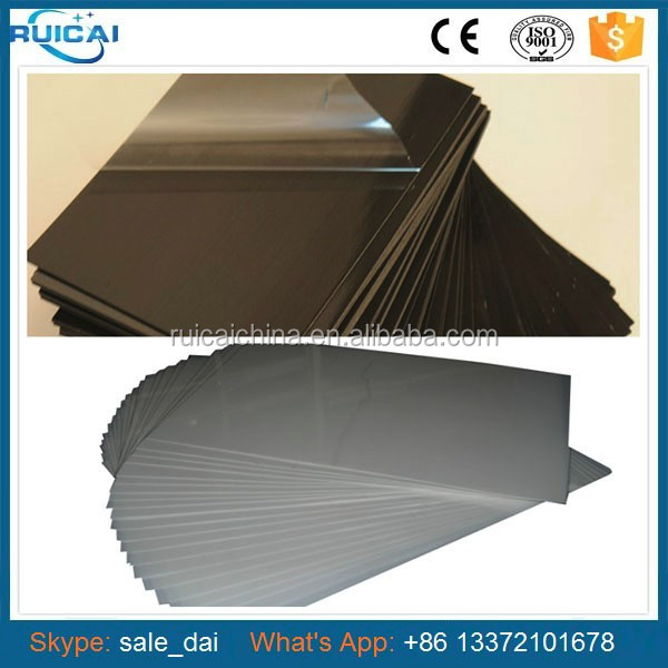 PVC Foam Sheet for Wedding Album Adhesive Page 0.5mm Thickness 21*21cm