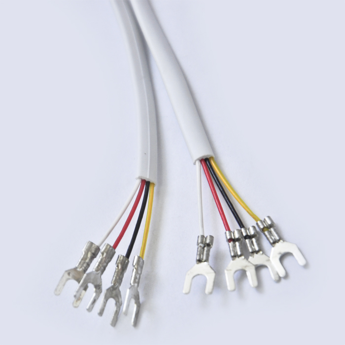 4Y type terminal connector with red white black yellow