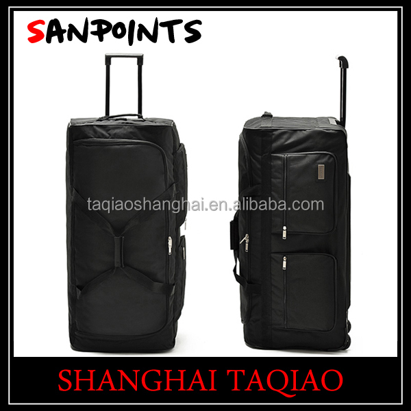 Bag Rolling Wheeled Duffel Duffle Travel Luggage Carry Wheels
