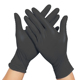 Cheap Disposable Black Nitrile Latex Gloves Without Powder