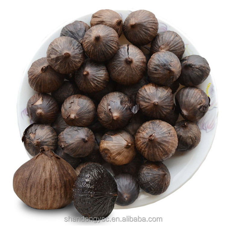 hot sale fermented black garlic, 100% natural black garlic seeds