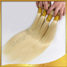 Professional manufacturer 100 percent straight human hair weave