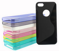 Case for Apple iPhone 5S 5 Hybrid TPU Silicone Protector Cover