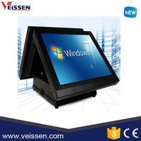 VS-PMT17 Double Touch Screen wholesale POS system All in One POS Terminal