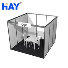 Exhibition Display Product Aluminum 3mx3m Modular Stand System