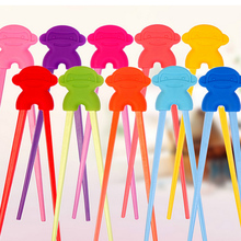 Monkey king design baby chopsticks oem promotion kids silicone chopsticks holder