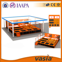 New arrival latest design LLDPE plastic professional gymnastic trampolines