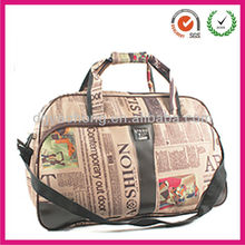 newest fashion high quality trendy pictures of traveling bag tote with long strap