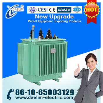 S9-M Distribution transformer 630kva 11kv with Copper Winding