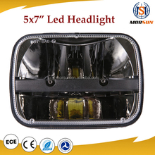 Truck Pair Of Rectangular LED 5X7 jeep XJ YJ Headlight