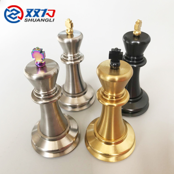 Backgammon Titanium chess sets